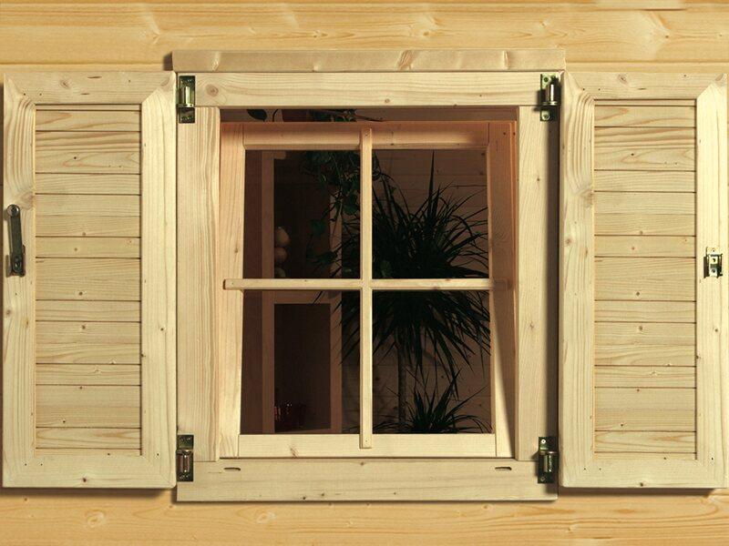 weka fensterladen 2 seitig kaufen bei obi. Black Bedroom Furniture Sets. Home Design Ideas