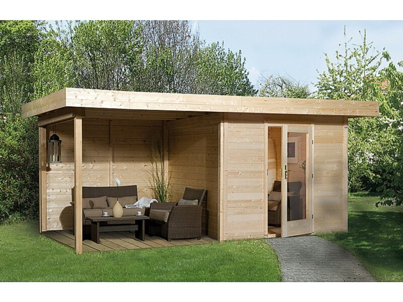 obi holz gartenhaus florenz b gr sse 3 natur 530 cm x 240 cm kaufen bei obi. Black Bedroom Furniture Sets. Home Design Ideas