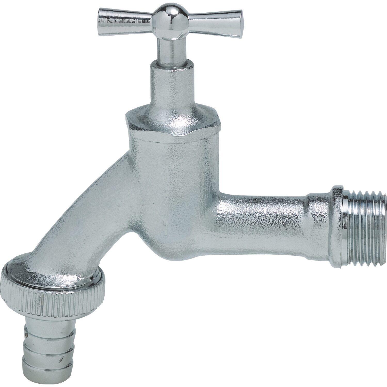 Wasserhahn 21 mm (R 1/2) AG matt verchromt kaufen bei OBI