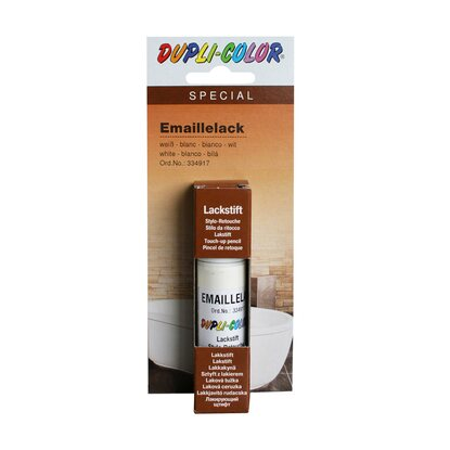 Dupli-Color Lackstift Email Weiss 12 ml