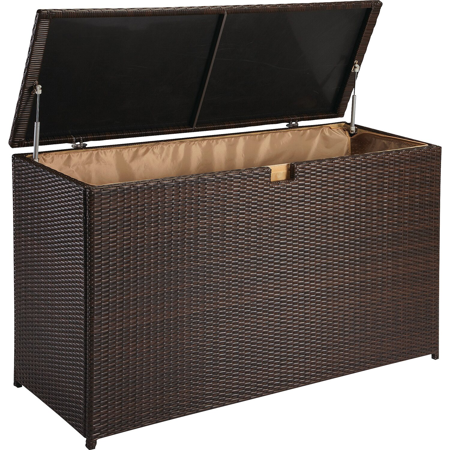 obi kissenbox davenport ii braun kaufen bei obi. Black Bedroom Furniture Sets. Home Design Ideas